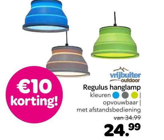 Vrijbuiter Regulus Hanglamp