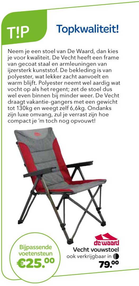Vrijbuiter Vecht Vouwstoel