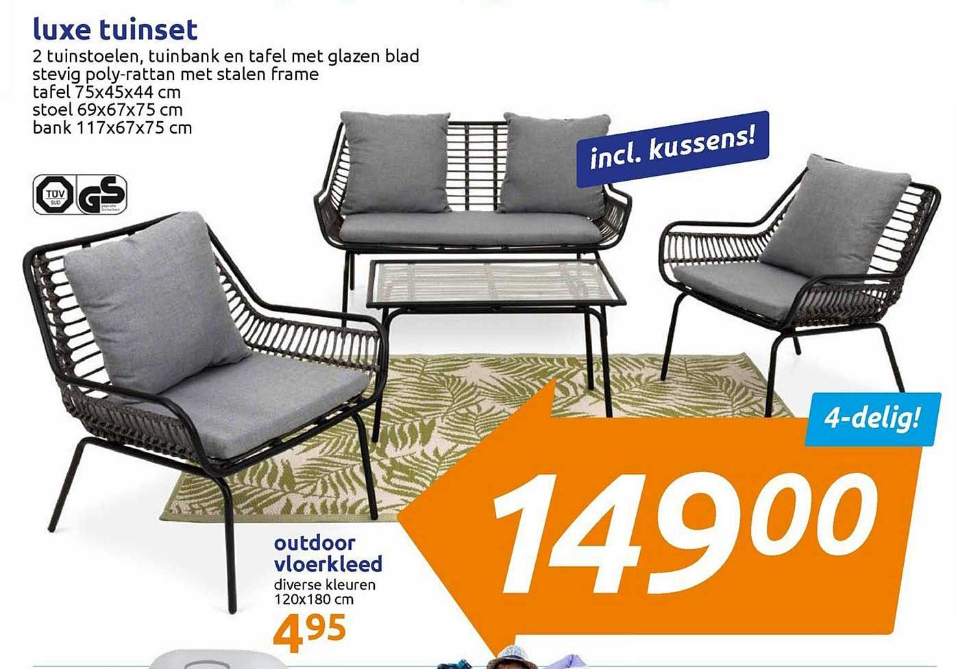 Action Luxe Tuinset