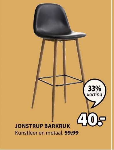 Jysk Jonstrup Barkruk 33% Korting