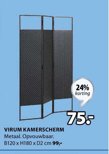 Jysk Virum Kamerscherm 24% Korting