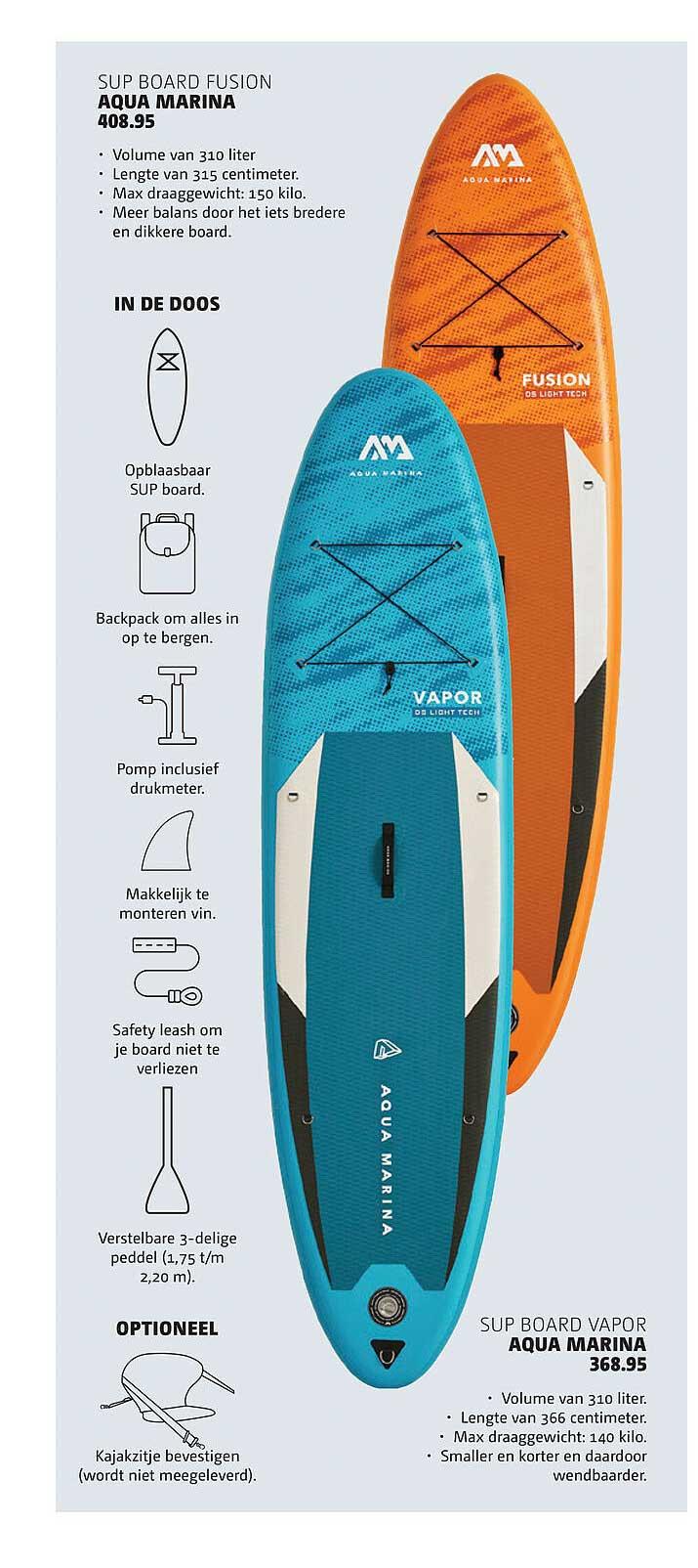 Bever Sup Board Fusion Aqua Marina Of Sup Board Vapor Aqua Marina