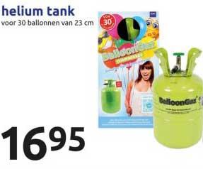 Action Helium Tank