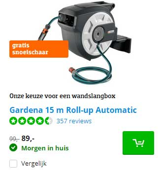 Coolblue Gardena 15 M Roll Up Automatic