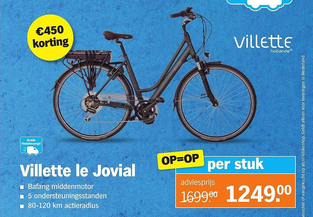 Albert Heijn Villette Le Jovial €450 Korting