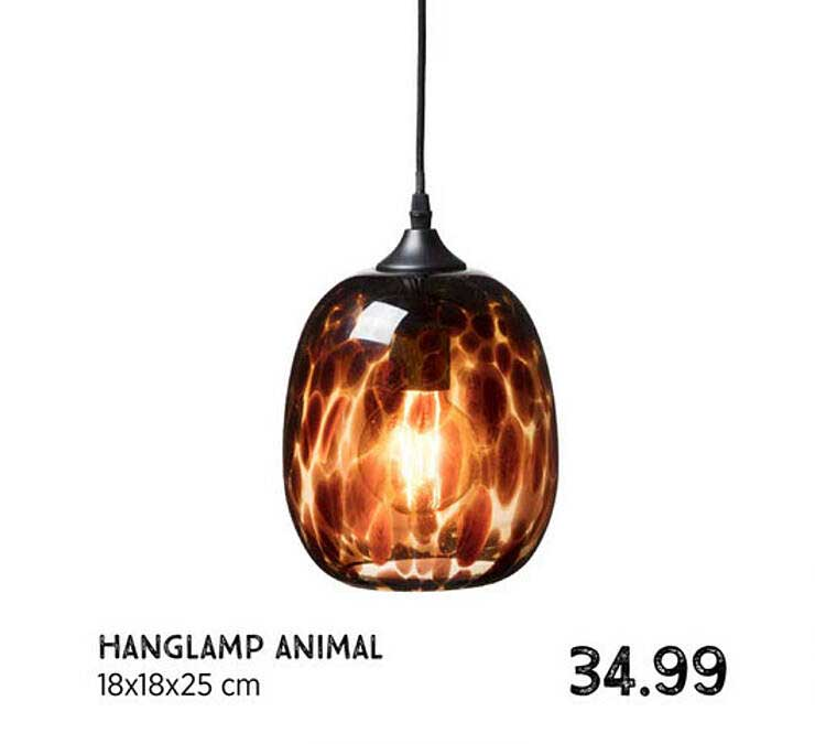Xenos Hanglamp Animal