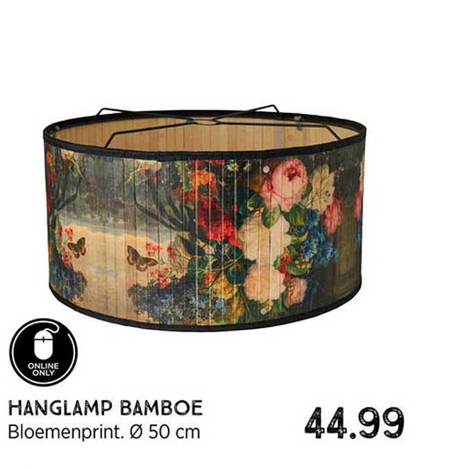 Xenos Hanglamp Bamboe