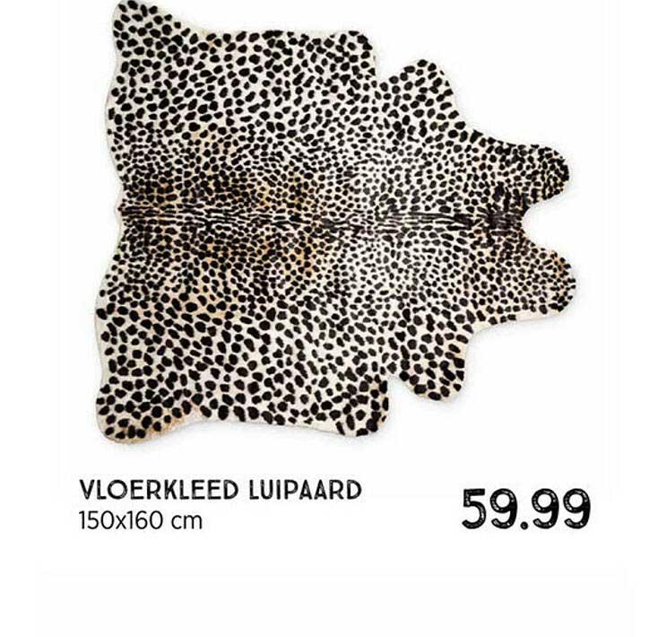 Xenos Vloerkleed Luipaard