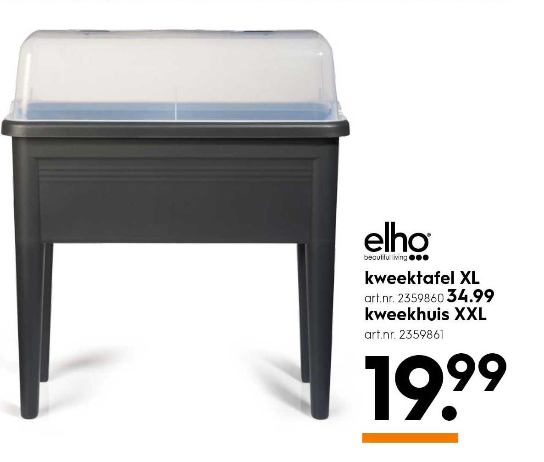 Blokker Elho Kweektafel XL En Kweekhuis XXL: Vanaf €19,99