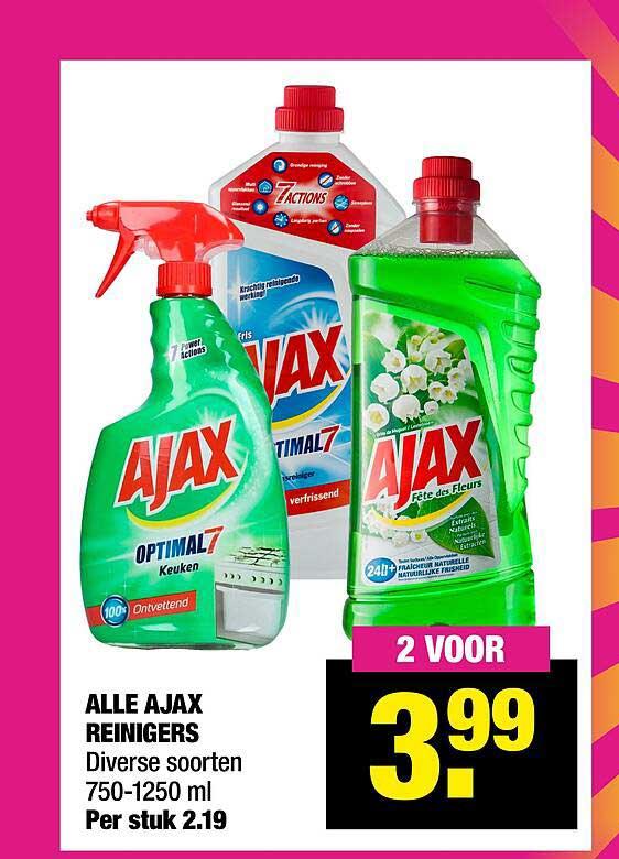Big Bazar Alle Ajax Reinigers