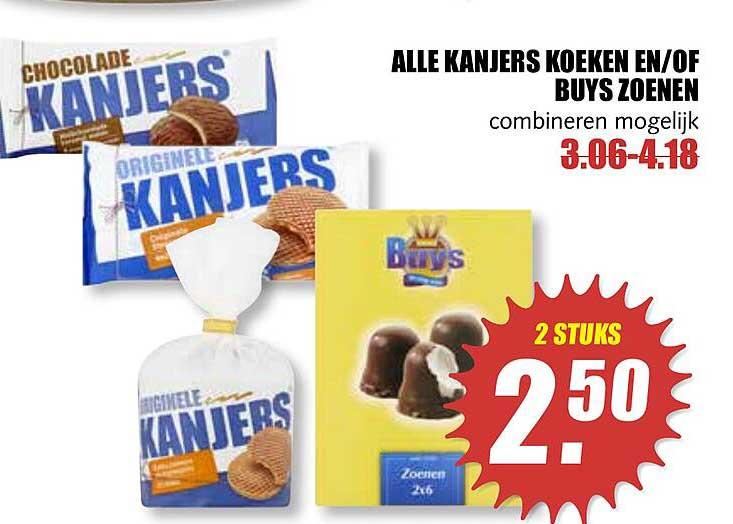MCD Supermarkt Alle Kanjers Koeken En-of Buys Zoenen
