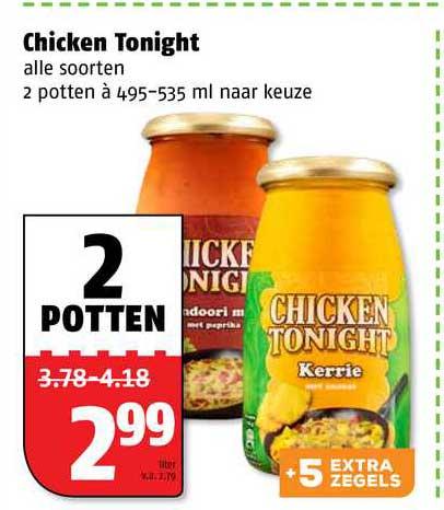 Poiesz Chicken Tonight