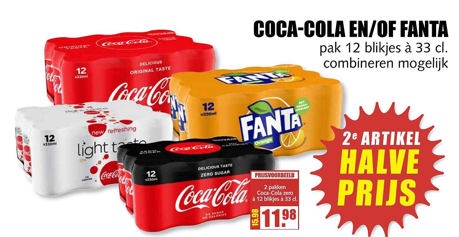 MCD Supermarkt Coca-Cola En-of Fanta
