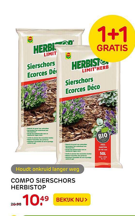 Praxis Compo Sierschors Herbistop 1+1 Gratis