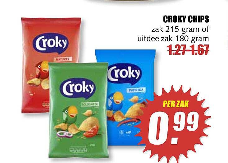 MCD Supermarkt Croky Chips