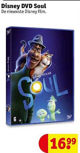 Kruidvat Disney DVD Soul