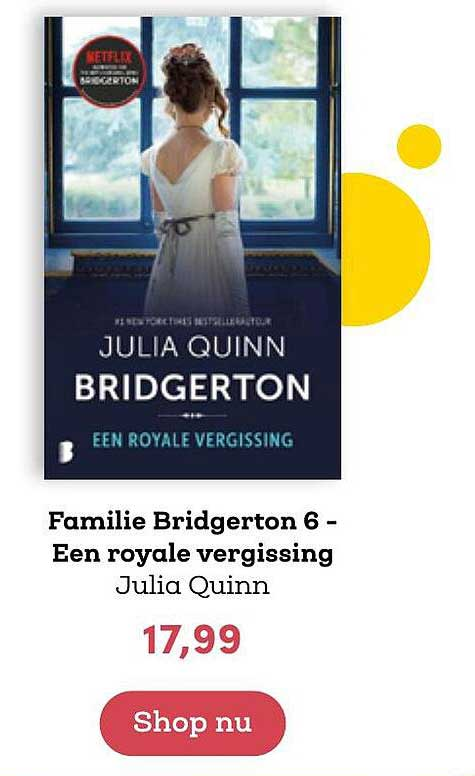 BookSpot Familie Bridgerton 6 - Een Royale Vergissing - Julia Quinn