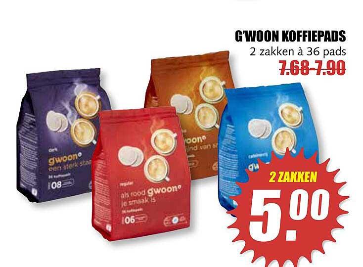 MCD Supermarkt G'woon Koffiepads