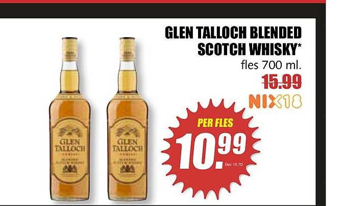 MCD Supermarkt Glen Talloch Blended Scotch Whisky