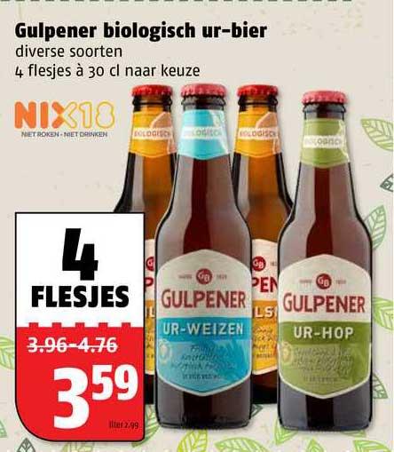 Poiesz Gulpener Biologische Ur-Bier