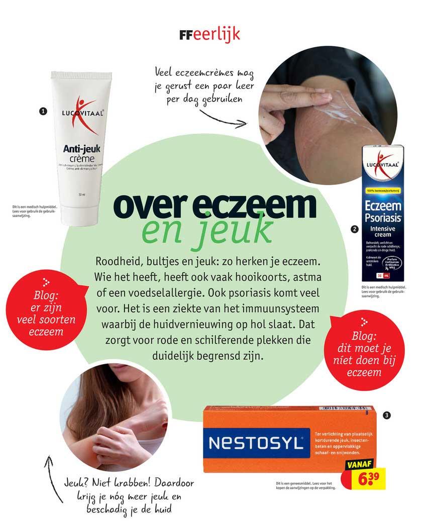 Kruidvat Lucovitaal Anti-Jeuk Crème, Lucovital Eczeem Psoriasis Of Nestosyl