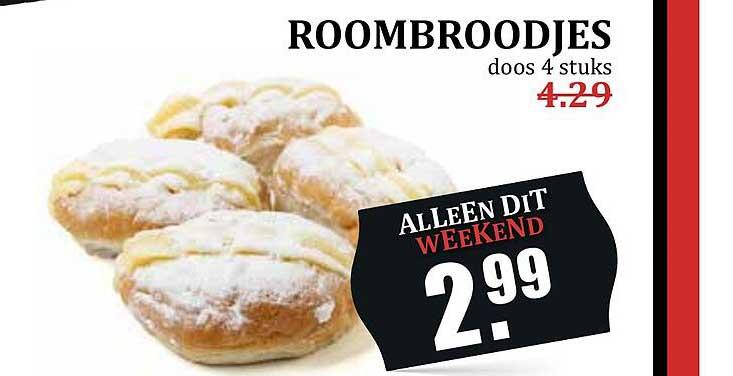 MCD Supermarkt Roombroodjes