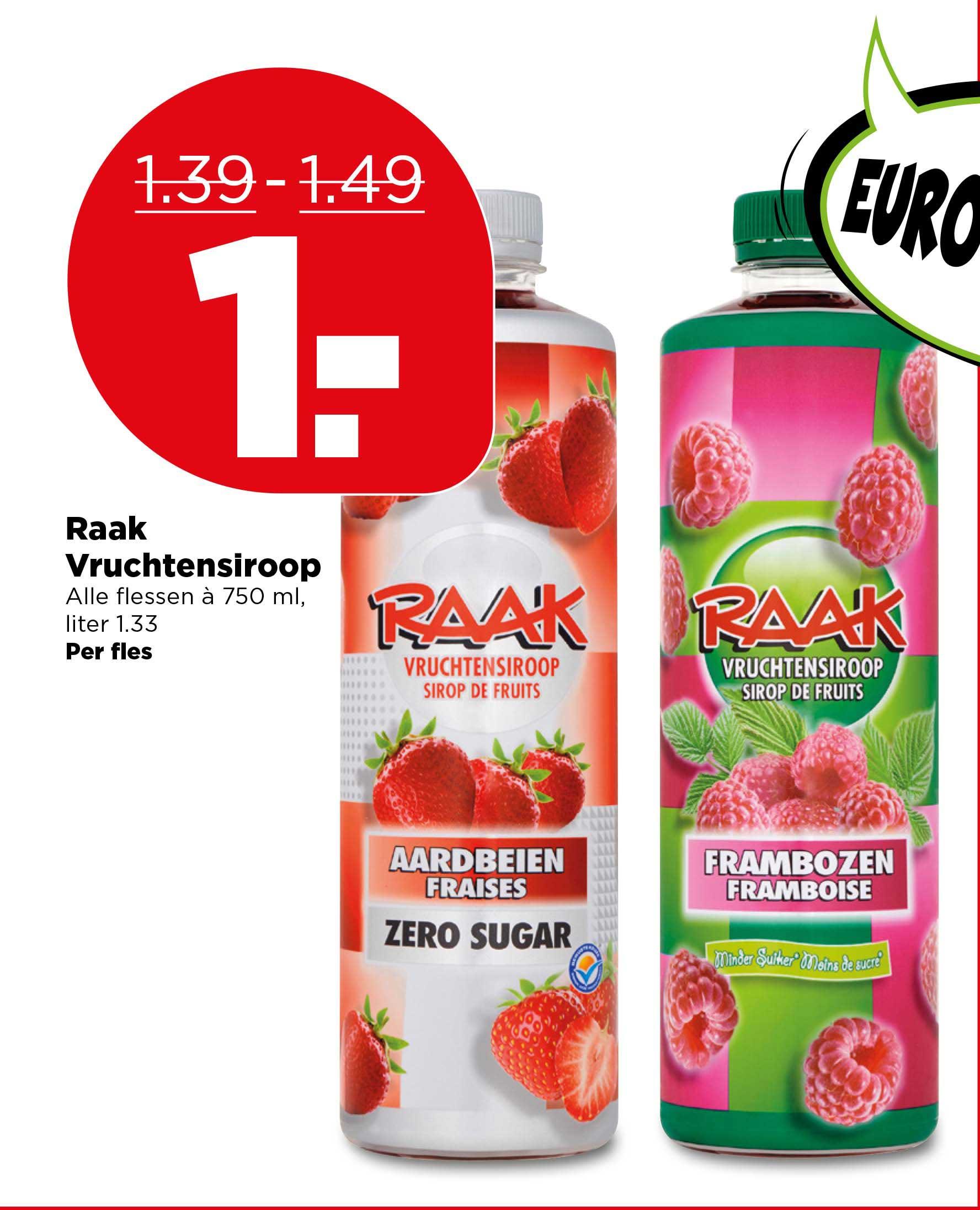 PLUS Raak Vruchtensiroop