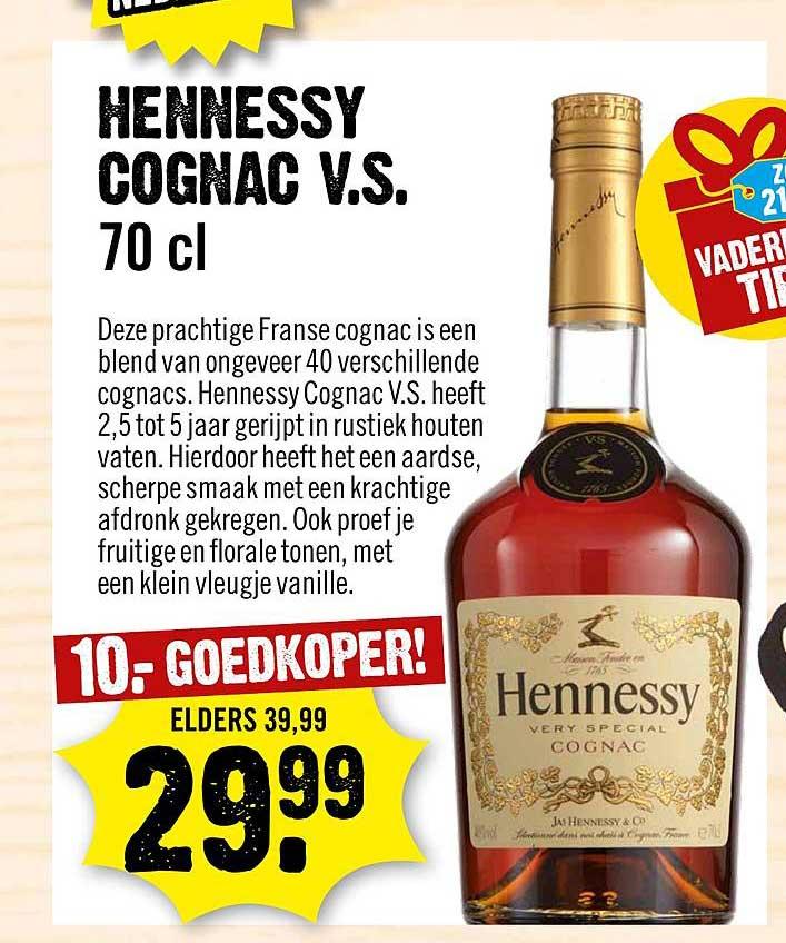 Dirck III Hennessy Cognac V.S