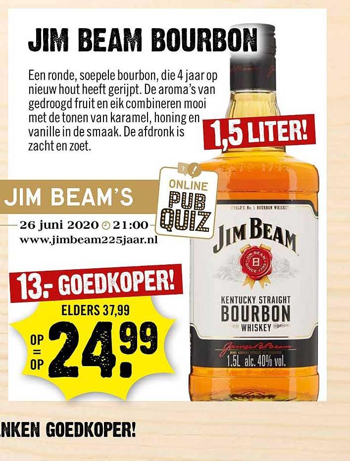 Dirck III Jim Beam Bourbon
