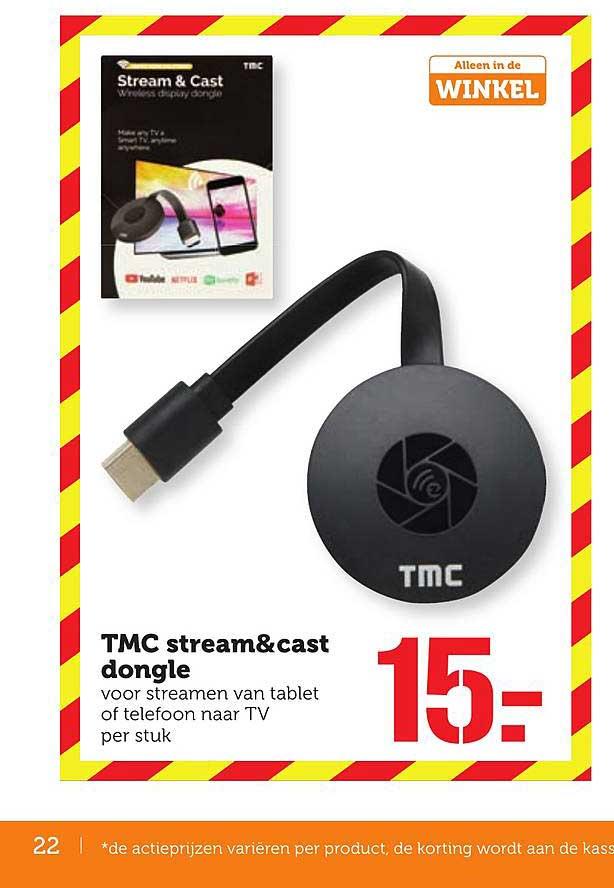 Coop TMC Stream&cast Dongle