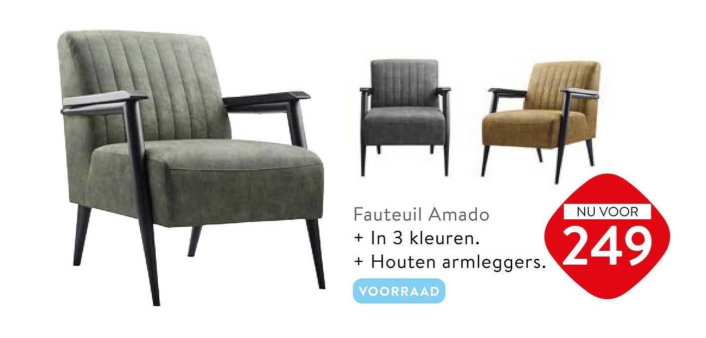 Profijt Meubel Fauteuil Amado