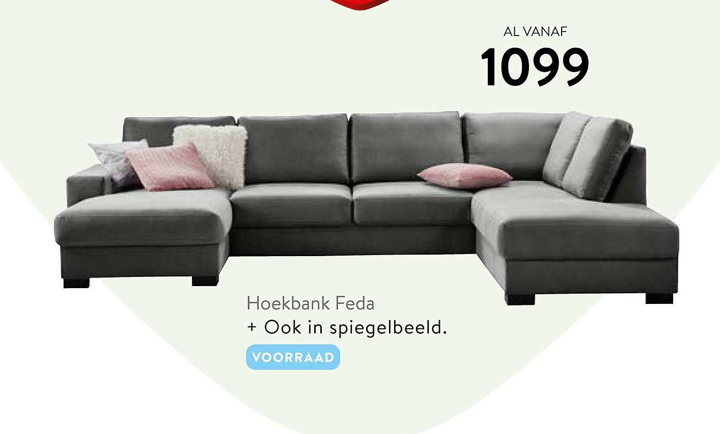 Profijt Meubel Hoekbank Feda