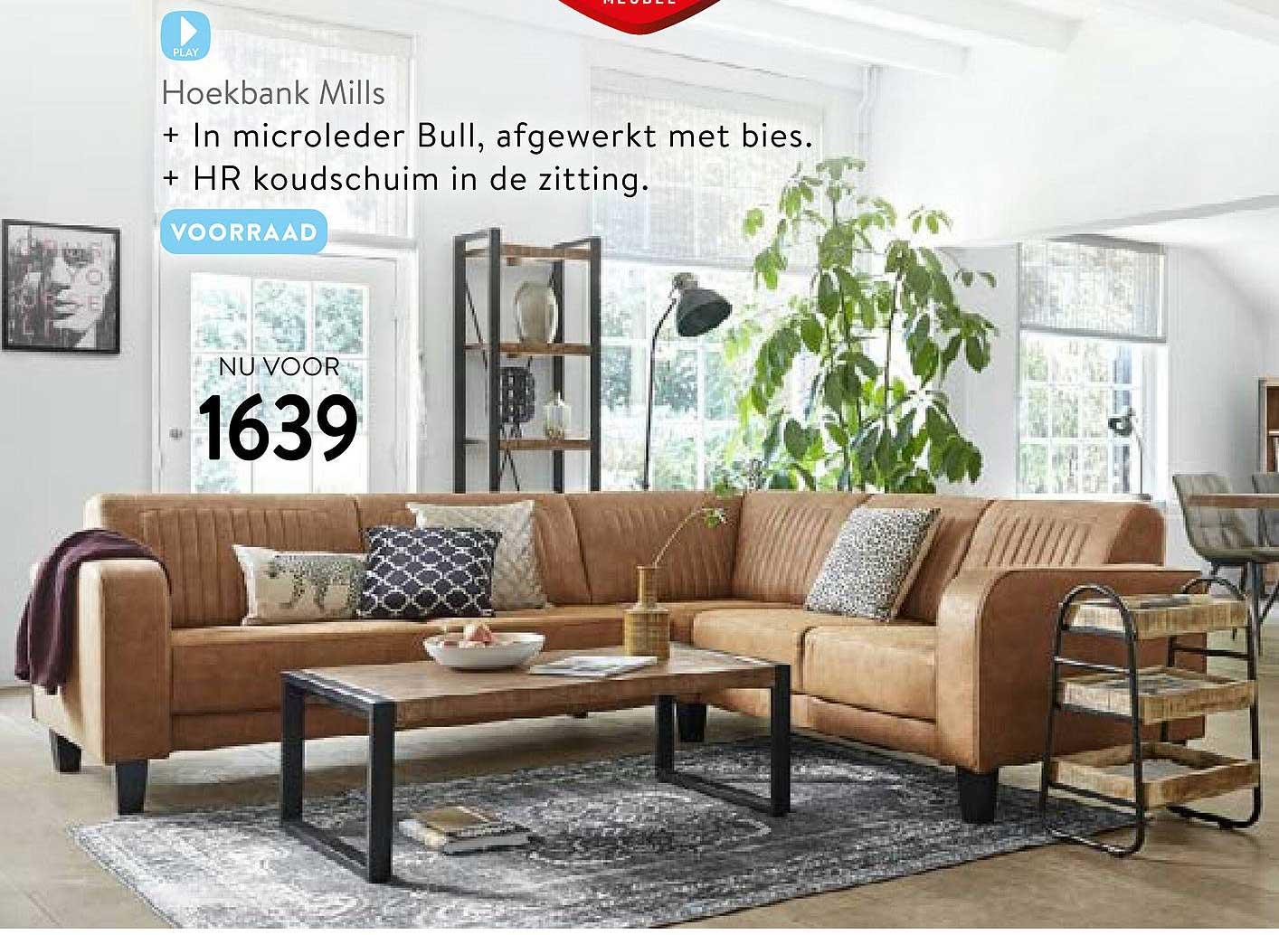 Profijt Meubel Hoekbank Mills
