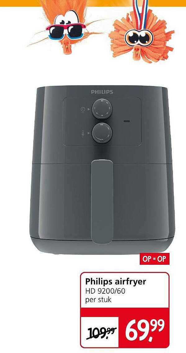 Jan Linders Philips Airfryer HD 9200-60