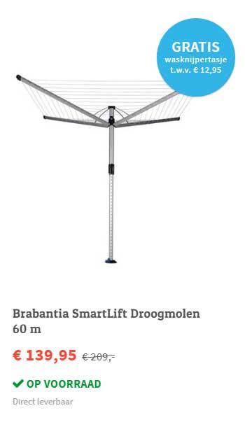 FonQ Brabantia Smartlift Droogmolen 60 M