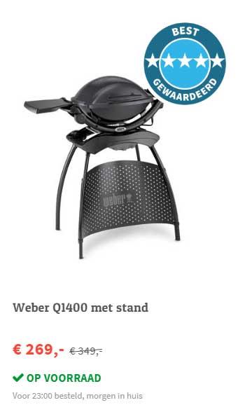 FonQ Weber Q1400 Met Stand