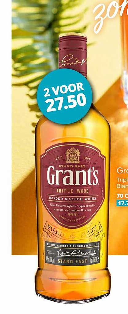 Mitra Grant's Triple Wood Blended Scotch Whisky