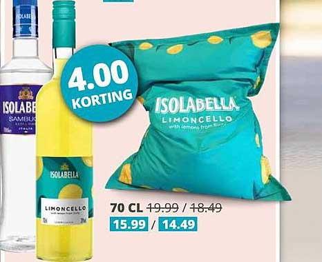 Mitra Isolabella Limoncello 4.00 Korting