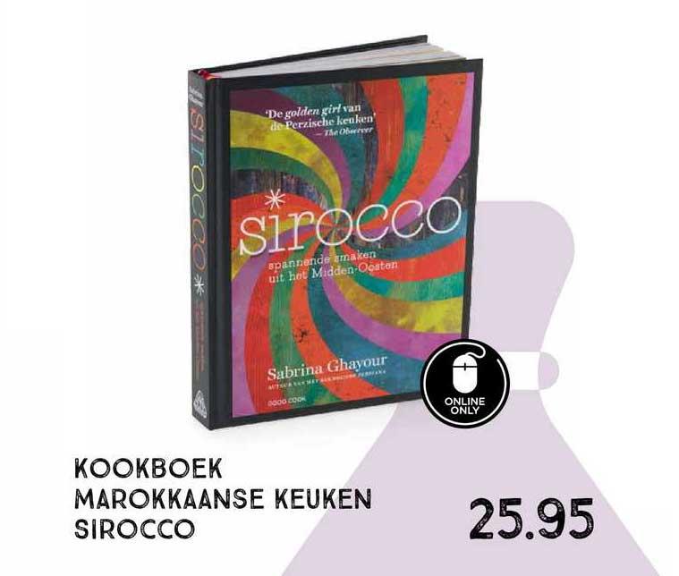 Xenos Kookboek Marokkaanse Keuken Sirocco