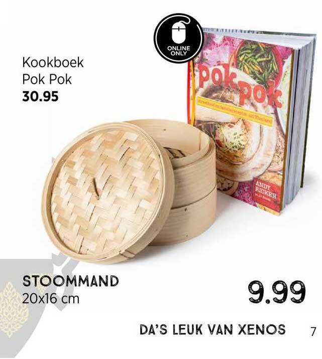 Xenos Kookboek Pok Pok Of Stoommand 20x16 Cm
