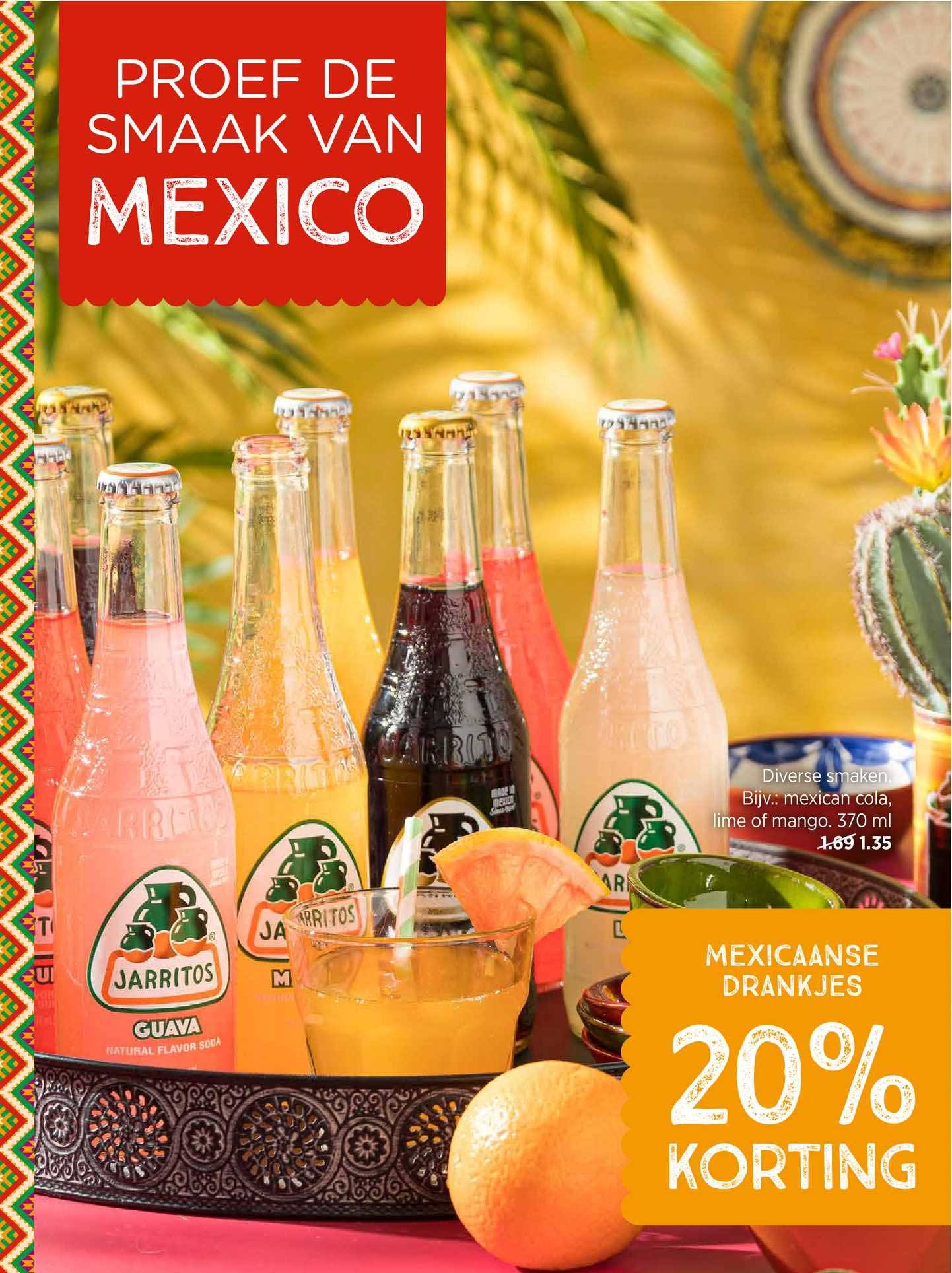 Xenos Mexicaanse Drankjes 20% Korting