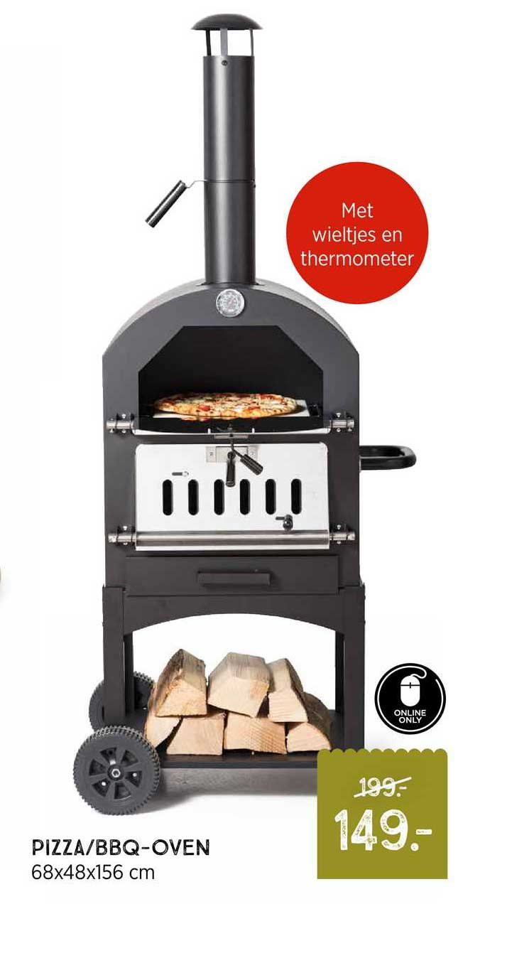 Xenos Pizza-BBQ-Oven