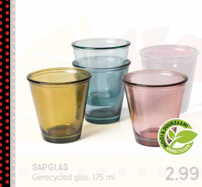 Xenos Sapglas Gerecycled Glas 175 Ml