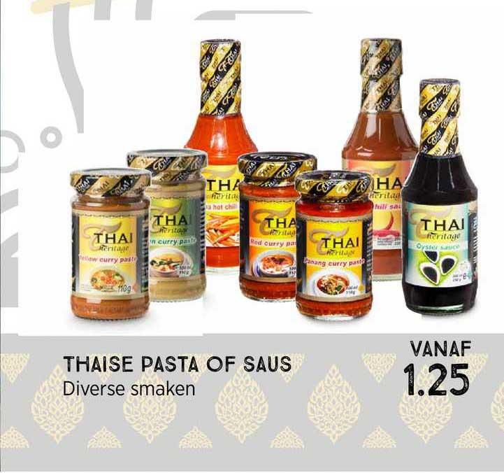 Xenos Thaise Pasta Of Saus