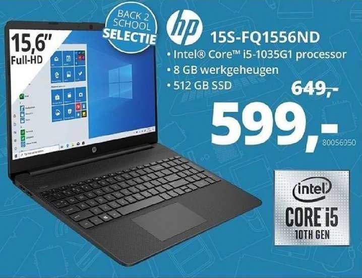 Paradigit HP 15S-FQ1556ND