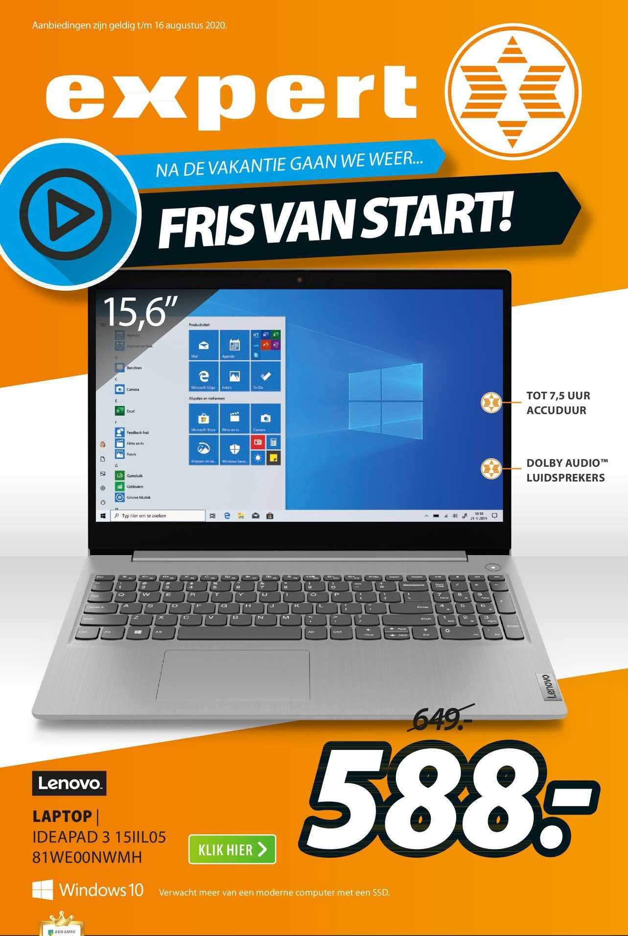 Expert Lenovo Laptop | Ideapad 3 15IIL05 81WE00NWMH