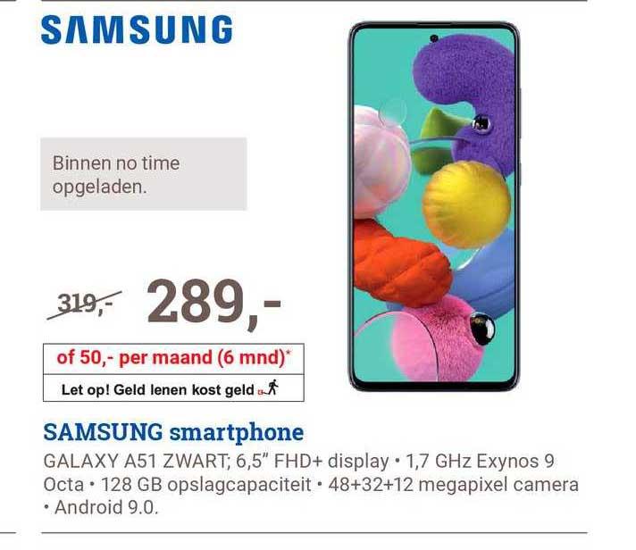 BCC Samsung Galaxy A51 Smartphone