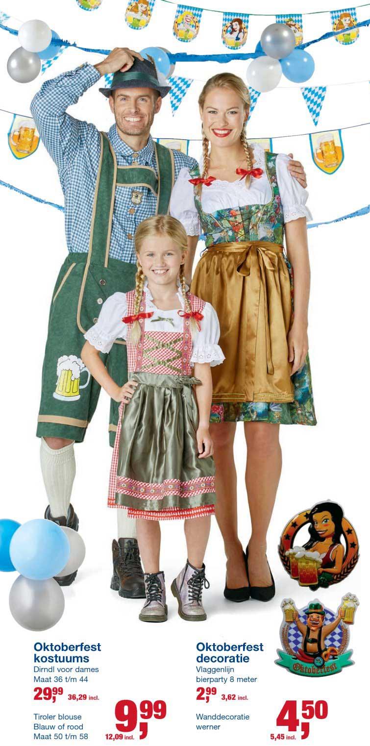 Makro Oktoberfest Kostuums En Oktoberfest Decoratie