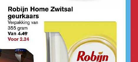 Hoogvliet Robijn Home Zwitsal Geurkaars