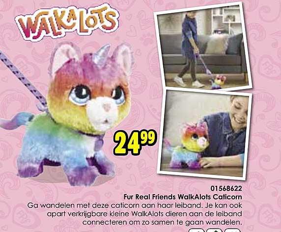 Toychamp Fur Real Friends Walkalots Caticorn